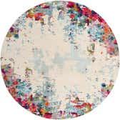 8' x 8' Spectrum Round Rug thumbnail
