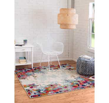 Image of 6' x 6' Spectrum Square Rug