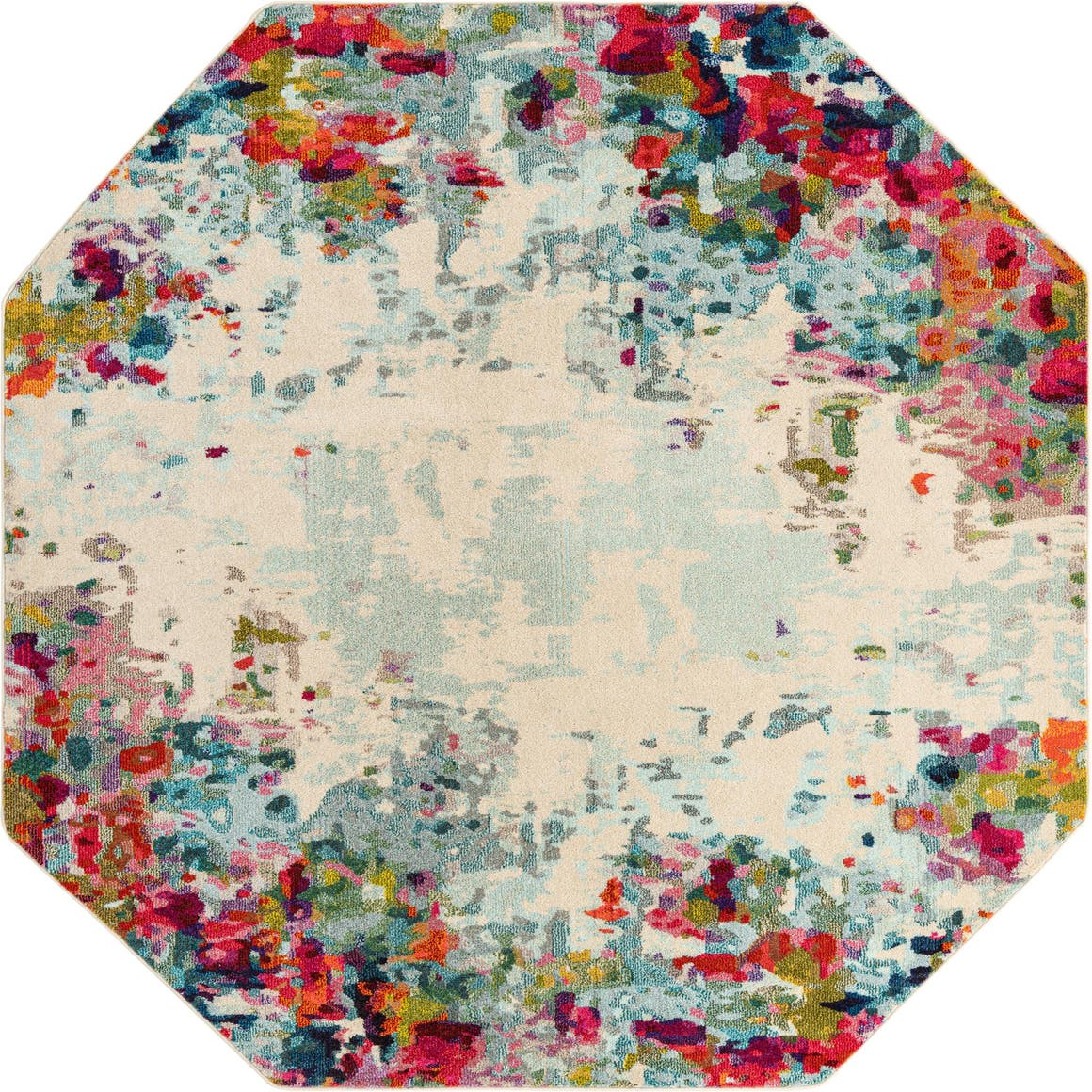 8' x 8' Spectrum Octagon Rug main image