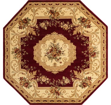 8' x 8' Classic Aubusson Octagon Rug main image