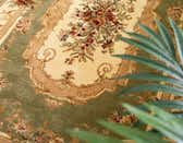 5' x 8' Classic Aubusson Oval Rug thumbnail