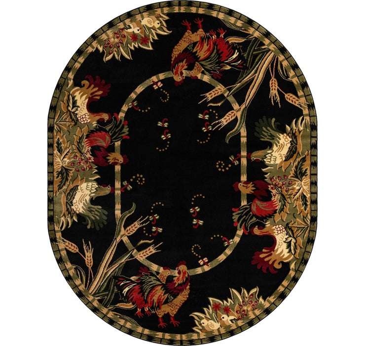 240cm x 305cm Country Oval Rug