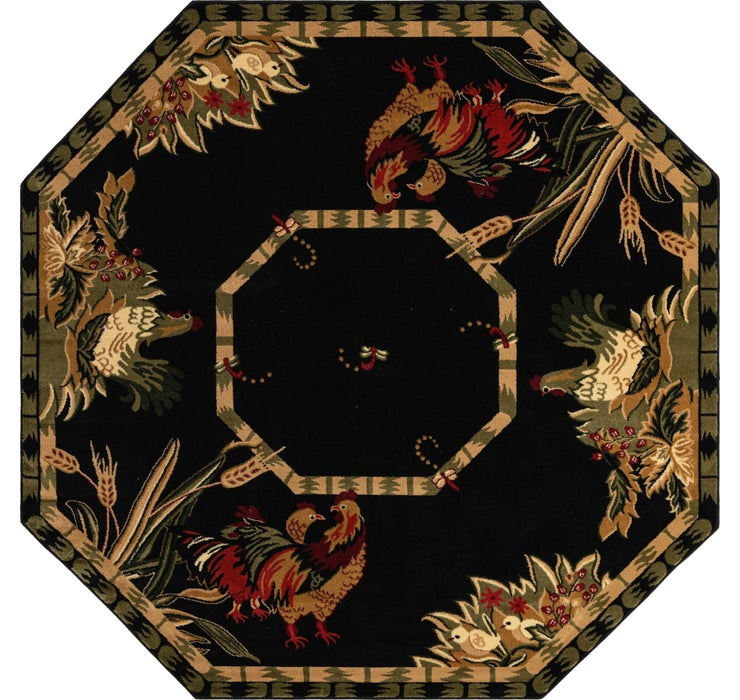 240cm x 240cm Country Octagon Rug