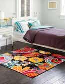 4' x 4' Florence Square Rug thumbnail