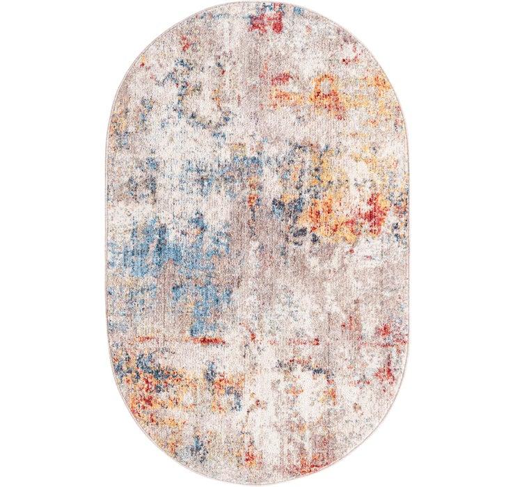 100cm x 160cm Prism Oval Rug