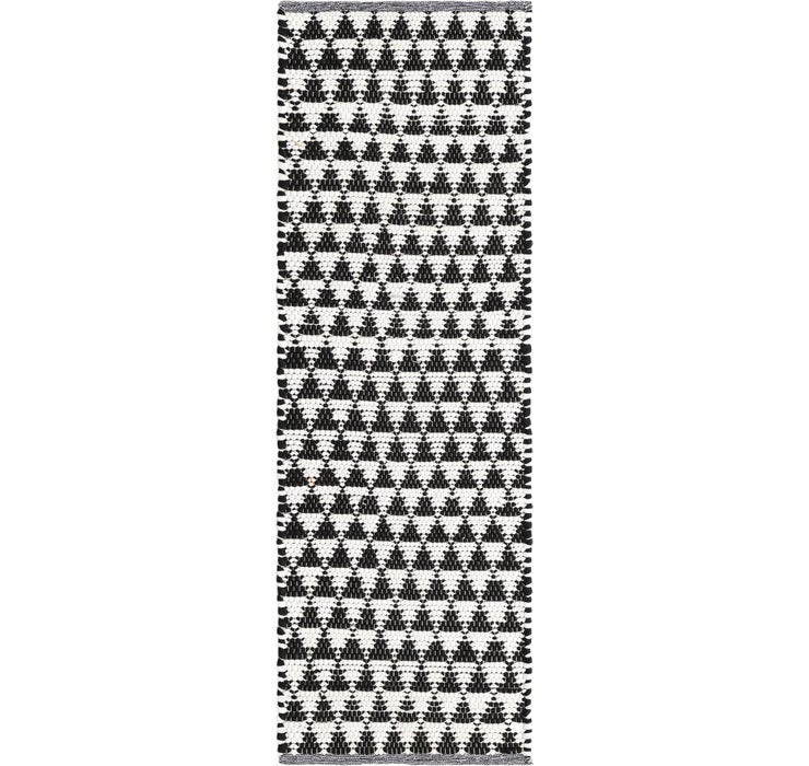 65cm x 183cm Chindi Jute Runner Rug