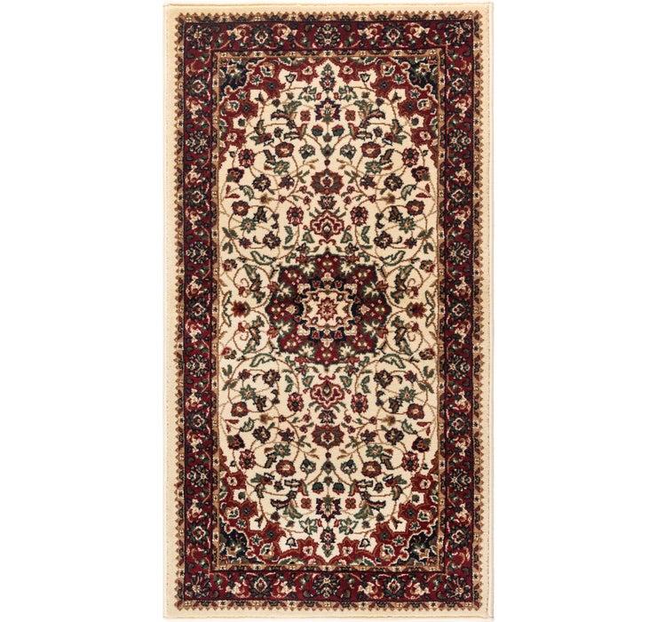 2' 4 x 4' 4 Kashan Design Rug