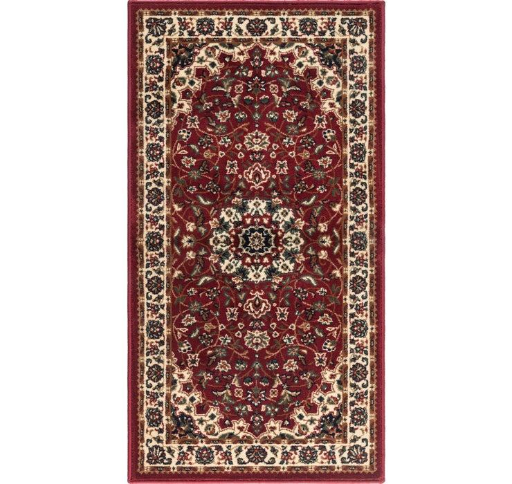 2' 4 x 4' 3 Kashan Design Rug