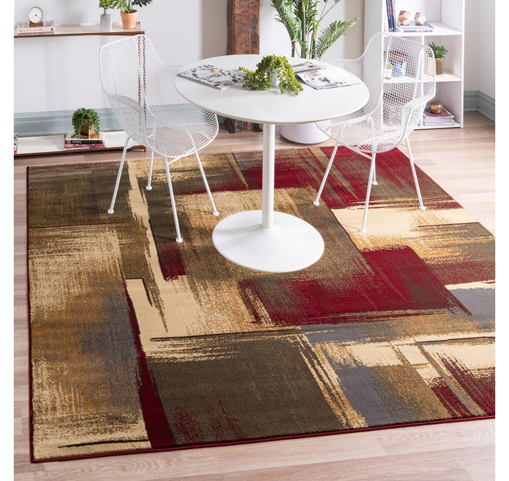 245cm x 245cm Coffee Shop Square Rug