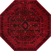 8' x 8' Bokhara Octagon Rug thumbnail