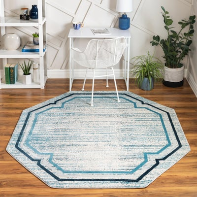 6 FT Octagon Rugs