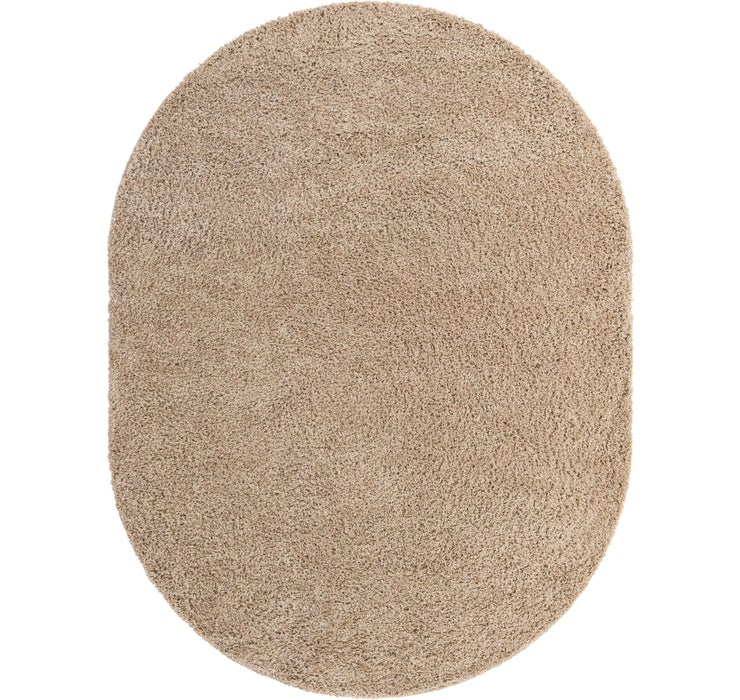 245cm x 305cm Everyday Shag Oval Rug