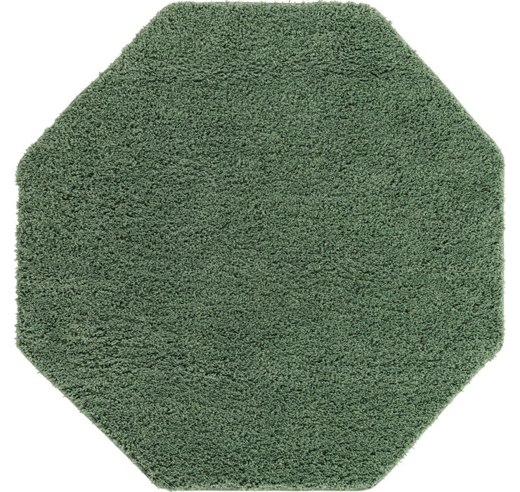 183cm x 183cm Everyday Shag Octagon Rug