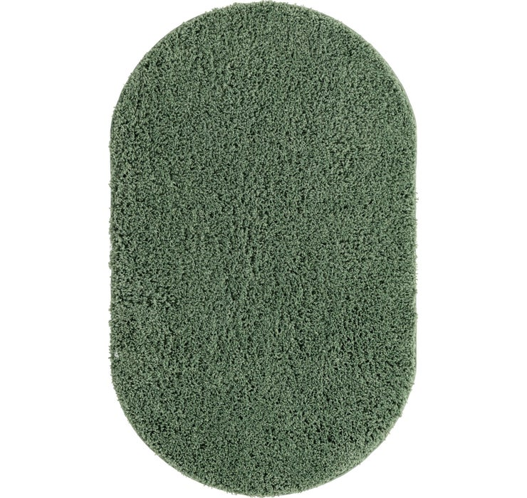 100cm x 160cm Everyday Shag Oval Rug