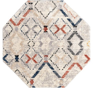 7' x 7' Tucson Octagon Rug main image