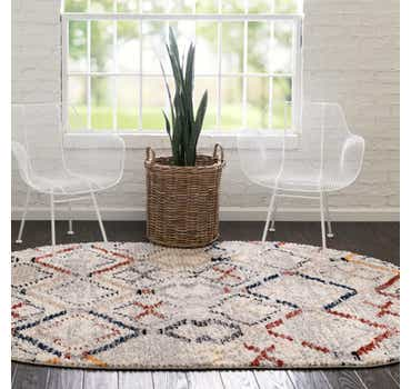 Image of  5' x 8' Tucson Oval Rug