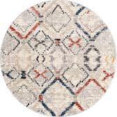 3' x 3' Tucson Round Rug thumbnail