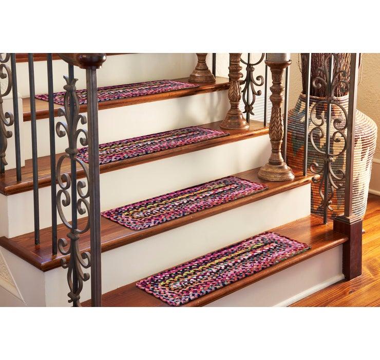 23cm x 75cm Braided Chindi Stair St...