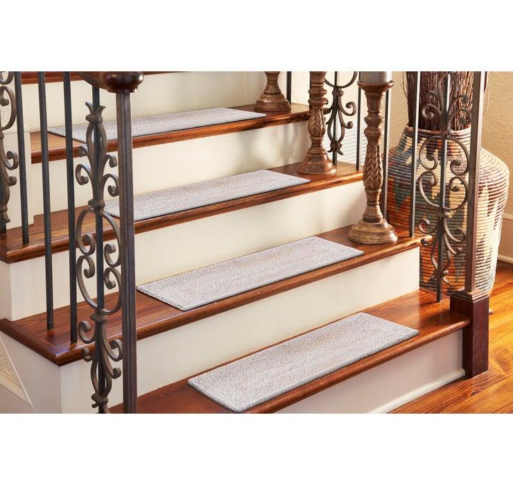 23cm x 75cm Braided Jute Stair Stai...