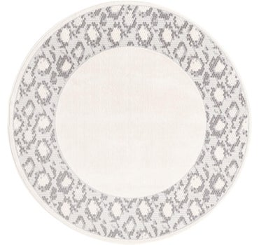 4' x 4' Vince Camuto Round Rug main image