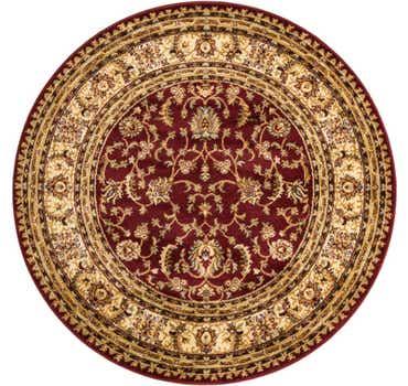5' x 5' Classic Agra Round Rug