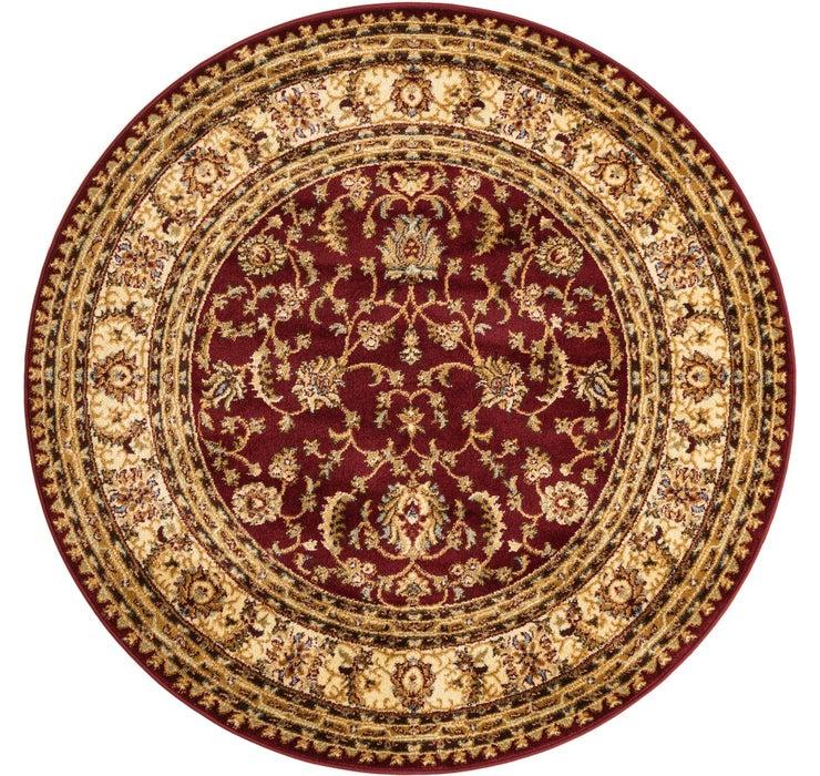 Image of 152cm x 152cm Classic Agra Round Rug