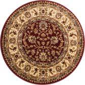 3' 3 x 3' 3 Classic Agra Round Rug thumbnail