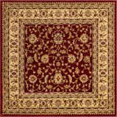 5' 3 x 5' 3 Classic Agra Square Rug thumbnail