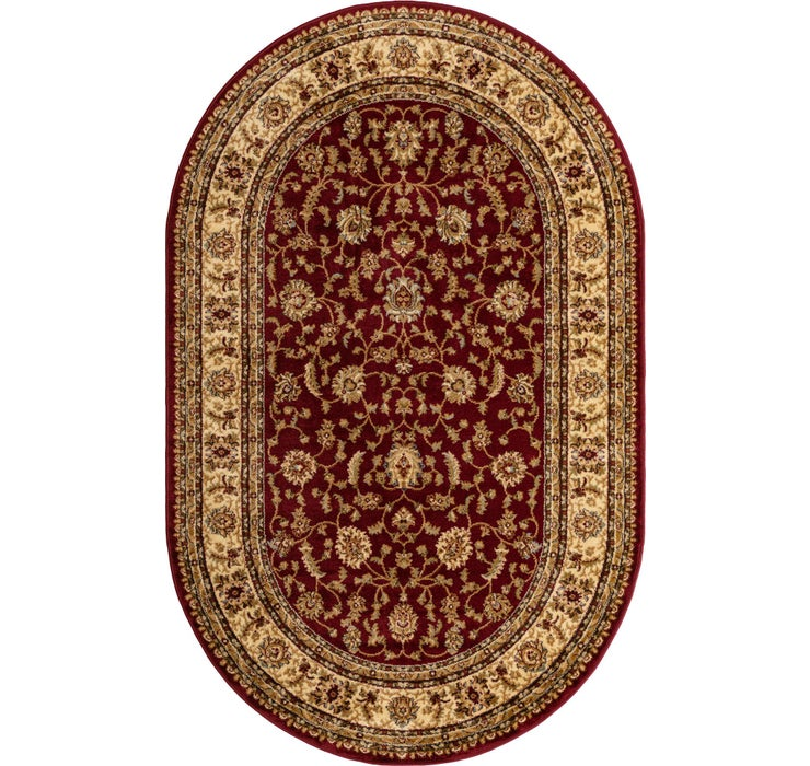 Image of 152cm x 245cm Classic Agra Oval Rug