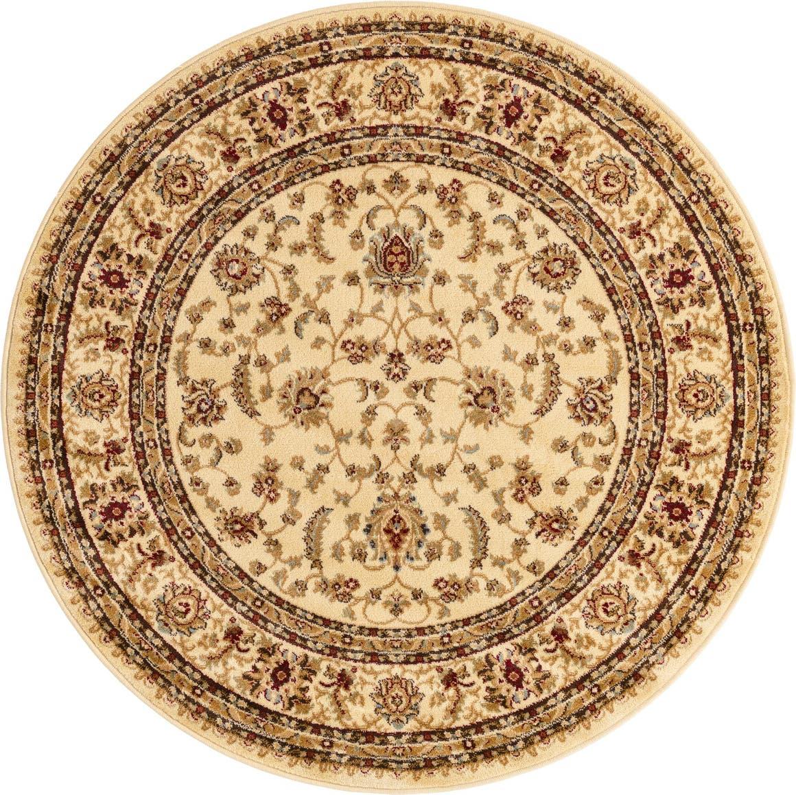 5' 3 x 5' 3 Classic Agra Round Rug main image