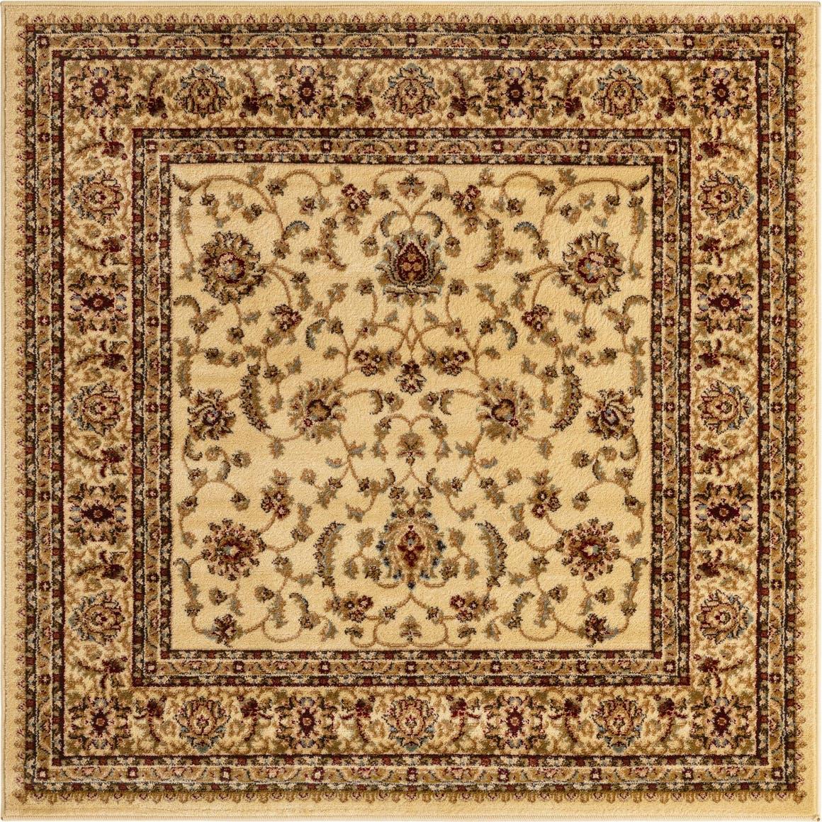 5' 3 x 5' 3 Classic Agra Square Rug main image