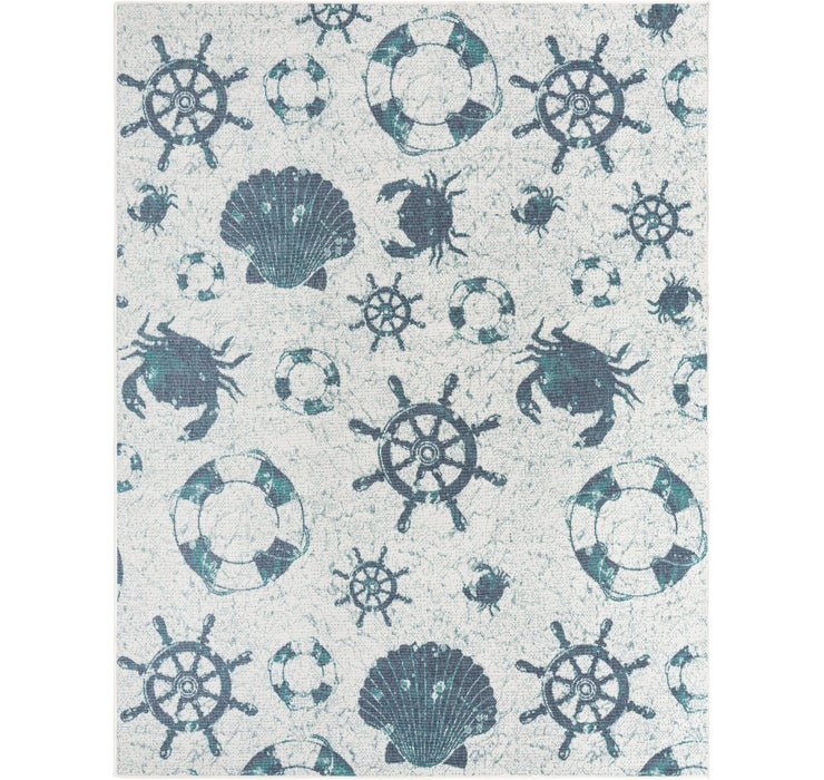 240cm x 305cm Outdoor Coastal Rug