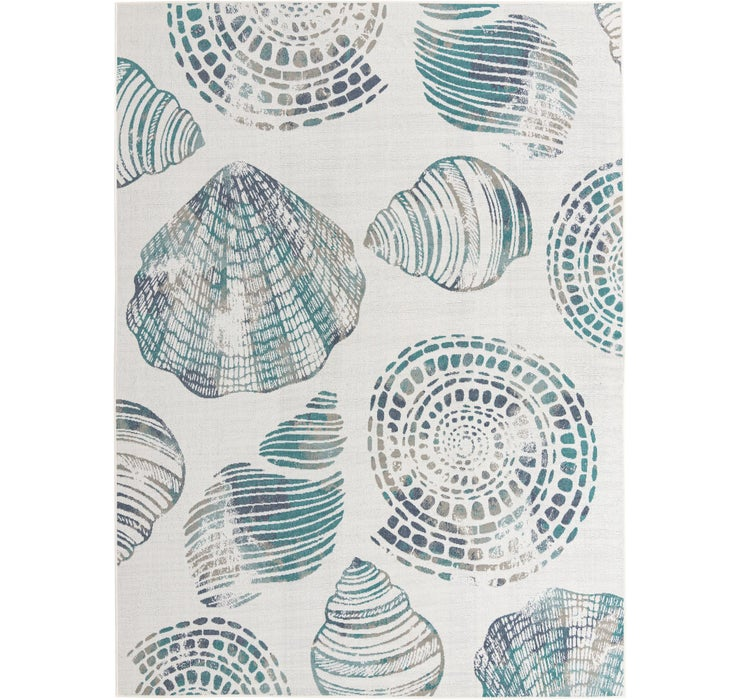 275cm x 365cm Outdoor Coastal Rug