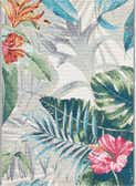 2' x 3' Outdoor Botanical Rug thumbnail