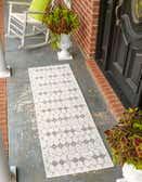 60cm x 245cm Outdoor Trellis Runner Rug thumbnail