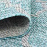 13' x 13' Outdoor Trellis Round Rug thumbnail