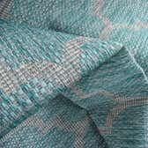 13' x 13' Outdoor Trellis Square Rug thumbnail