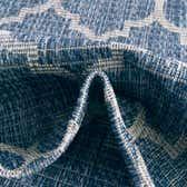 10' 8 x 10' 8 Outdoor Trellis Round Rug thumbnail