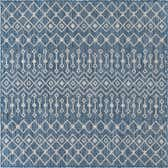 5' x 5' Outdoor Trellis Square Rug thumbnail