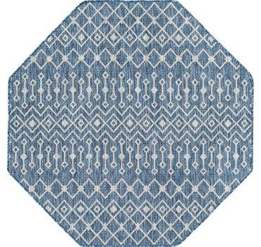 5' x 5' Outdoor Trellis Octagon Rug main image