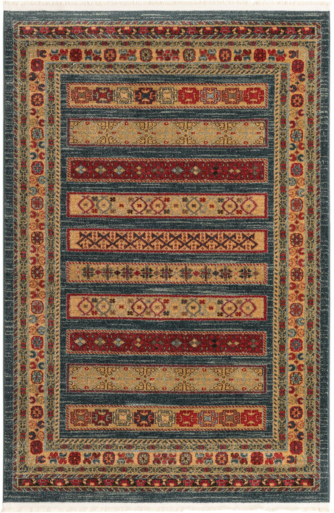 4' x 6' Kashkuli Gabbeh Rug main image
