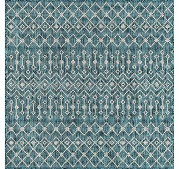 5' 3 x 5' 3 Outdoor Trellis Square Rug main image
