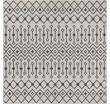 7' 10 x 7' 10 Outdoor Trellis Square Rug main image