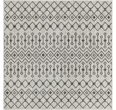 5' 3 x 5' 3 Outdoor Trellis Square Rug main image