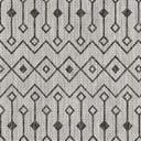 5' 3 x 8' Outdoor Trellis Oval Rug