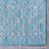 5' 3 x 5' 3 Outdoor Lattice Square Rug thumbnail