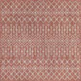 5' 3 x 5' 3 Outdoor Trellis Square Rug thumbnail