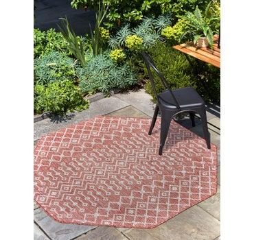 7' 10 x 7' 10 Outdoor Trellis Octagon Rug