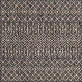5' 3 x 5' 3 Outdoor Lattice Square Rug thumbnail