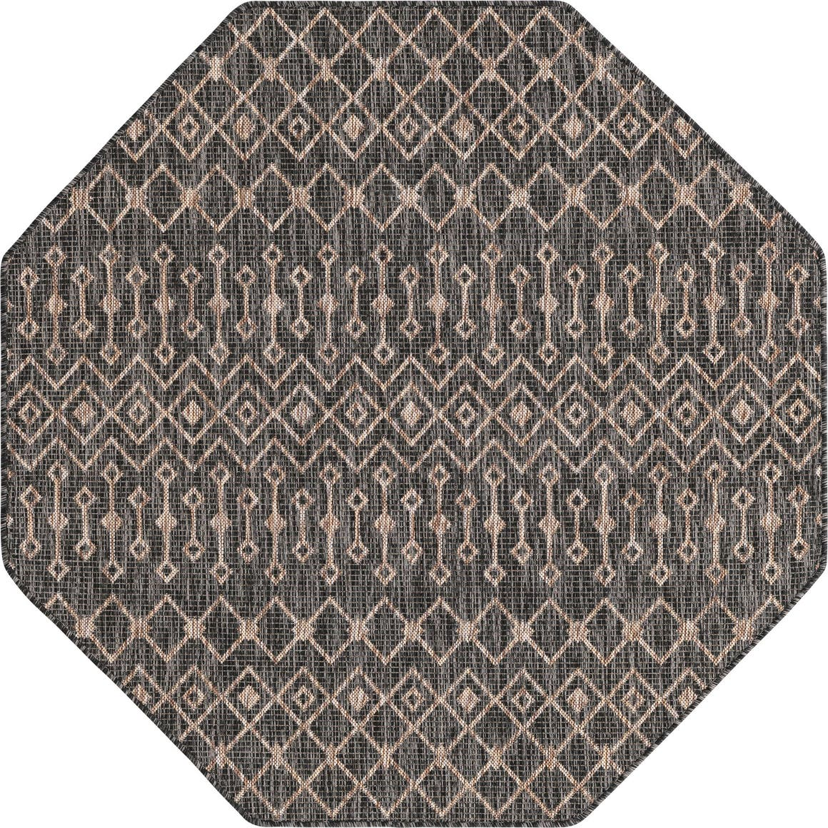 5' 3 x 5' 3 Outdoor Trellis Octagon Rug main image